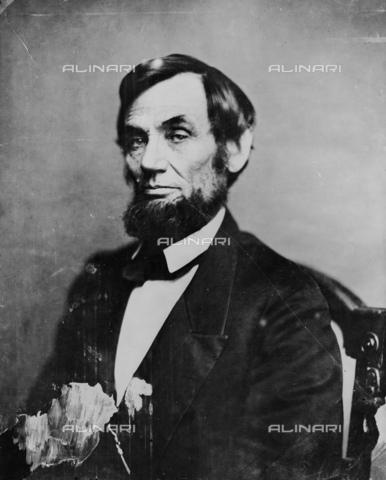 GBB-F-002008-0000 - 1861, 6 april, USA : The U.S.A. President ABRAHAM LINCOLN (Big South Fork, KY, 1809 - Washington 1865). - © ARCHIVIO GBB / Archivi Alinari