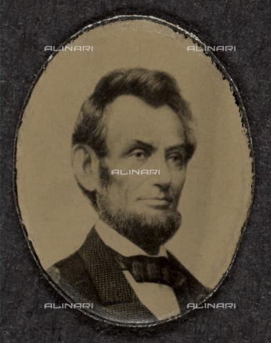 GBB-F-002115-0000 - 1864 : The U.S.A. President ABRAHAM LINCOLN (Big South Fork, KY, 1809 - Washington 1865). - © ARCHIVIO GBB / Archivi Alinari