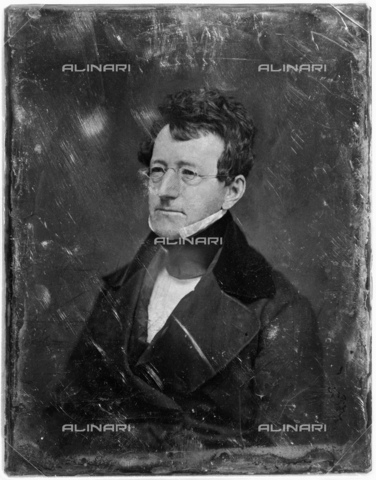 GBB-F-002808-0000 - 1845 ca, USA : Samuel Griswold Goodrich (1793 1860) was an American author, editor and publisher better known under the pseudonym Peter Parley. Photo daguerreotype - © ARCHIVIO GBB / Archivi Alinari