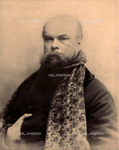 GBB-F-004298-0000 - The french poet PAUL VERLAINE (1844 - 1896) lover of young poet Arthur Rimbaud - © ARCHIVIO GBB / Archivi Alinari