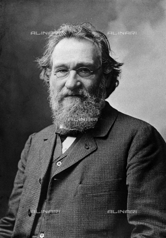 "GBB-F-006420-0000 - 1908 ca, PARIS, FRANCE: The french-ukrainian professor Doctor à‰lie Metchnikoff (born Ilya Ilyich Mechnikov, 1845-1916) Was a Russian zoologist best known for his pioneering research into the immune system. He and Paul Ehrlich were awarded the 1908 Nobel Prize in Physiology or Medicine""in recognition of their work on immunity"". Pasteur gave him an appointment at the Pasteur Institute, where he remained for the rest of his life - © ARCHIVIO GBB / Archivi Alinari"