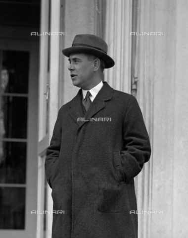 GBB-F-008054-0000 - 1915 ca, USA: The USA diplomatic and writer Honorable RICHARD WASHBURN CHILD (1881-1935). Ambassador of United States in Italy from May 1921 to 1924, he encouraged Benito Mussolini to start his March on Rome in 1922. He also promoted U.S. investment in Italy under fascism, especially from the J. P. Morgan bank. After return to USA, he became editor for The Saturday Evening Post and served on the National Crime Commission. In 1928 he became a paid propaganda writer for Benito Mussolin. Together with Thomas W. Lamont he rates as one of the most influential American promoters of Italian fascism until his death in 1935 - © ARCHIVIO GBB / Archivi Alinari