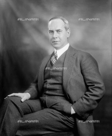 GBB-F-008056-0000 - 1915 ca, USA: The USA diplomatic and writer Honorable RICHARD WASHBURN CHILD (1881-1935). Ambassador of United States in Italy from May 1921 to 1924, he encouraged Benito Mussolini to start his March on Rome in 1922. He also promoted U.S. investment in Italy under fascism, especially from the J. P. Morgan bank. After return to USA, he became editor for The Saturday Evening Post and served on the National Crime Commission. In 1928 he became a paid propaganda writer for Benito Mussolin. Together with Thomas W. Lamont he rates as one of the most influential American promoters of Italian fascism until his death in 1935 - © ARCHIVIO GBB / Archivi Alinari