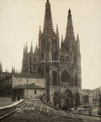 GCQ-F-009086-0000 - The Cathedral of Burgos, Spain - Date of photography: 1910 ca. - Fratelli Alinari Museum Collections, Florence