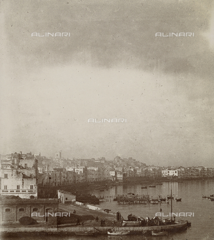 """GLQ-F-001919-0000 - """"The old city seen from the side of the Inner Sea"""" - Date of photography: 07/01/1897 - Fratelli Alinari Museum Collections, Florence"""