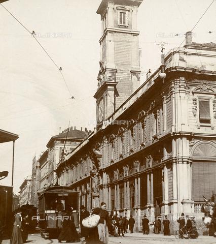 GLQ-F-004593-0000 - Palazzo dei Giureconsulti , today Palazzo Affari; Former Palazzo Borsa (Stock Exchange Building), Piazza dei Mercanti, Milan
