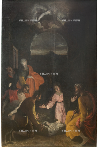 GNU-F-000911-0000 - Adoration of the Shepherds, oil on canvas, Francesco Barocci, Galleria Nazionale dell'Umbria, Perugia - (C) Galleria Nazionale dell'Umbria - Fratelli Alinari