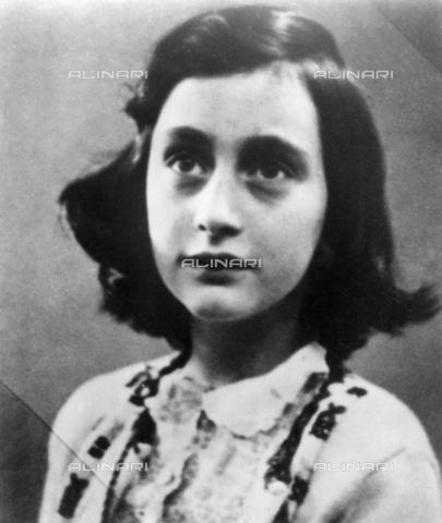 GRC-F-002761-0000 - Ritratto di Anna Frank (1929-1945) - Granger, NYC /Archivi Alinari