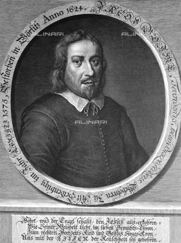 GRC-F-004450-0000 - Jacob Bohme (1575-1624), filosofo e mistico tedesco, incisione del XVII secolo - Granger, NYC /Archivi Alinari