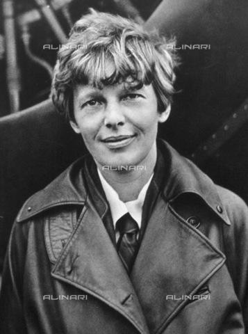 GRC-F-012513-0000 - L' aviatrice americana Amelia Earhart (1897-1937) - Data dello scatto: 1920 ca. - Granger, NYC /Archivi Alinari