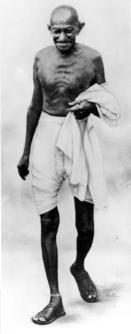 GRC-F-012896-0000 - Ritratto del Mahatma Gandhi (1869-1948) - Data dello scatto: 1940 ca. - Granger, NYC /Archivi Alinari