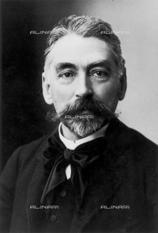 GRC-F-040606-0000 - Portrait of the French poet Stephane Mallarmé (1842-1898), photograph of Nadar - Granger, NYC/Alinari Archives