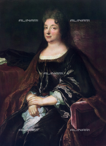 GRC-F-066961-0000 - Ritratto della Contesssa La Fayette, nata Marie-Madeleine Pioche de La Vergne (1634-1693), dipinto, Ignoto francese del XVII sec. - Granger, NYC /Archivi Alinari