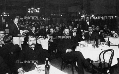 GRC-F-083637-0000 - Ristorante italiano a Broadway, San Francisco - Data dello scatto: 1929 - Granger, NYC /Archivi Alinari