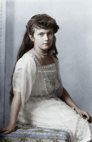 GRC-F-086810-0000 - Anastasia Nikolaevna (1901-1918), granduchessa di Russia e figlia dello zar Nicola II - Granger, NYC /Archivi Alinari