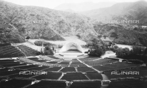 GRC-F-092068-0000 - L' anfiteatro Hollywood Bowl costruito nel 1922, Los Angeles - Data dello scatto: 1929 ca. - Granger, NYC /Archivi Alinari