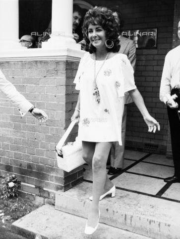 GRC-F-110094-0000 - L'attrice americana Elisabeth Taylor (1932-2011) nel 1971 - Data dello scatto: 1971 - Granger, NYC /Archivi Alinari