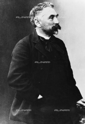 GRC-F-114622-0000 - Portrait of the French poet Stephane Mallarmé (1842-1898) - Data dello scatto: 1890-1898 - Granger, NYC/Alinari Archives