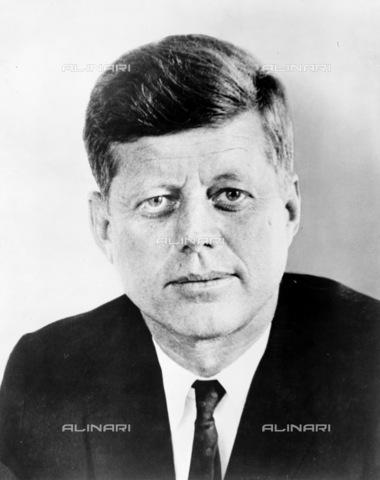 GRC-F-116062-0000 - Portrait John Fitzgerald Kennedy (1917-1963), 35th President of the United States - Data dello scatto: 1961 - Granger, NYC/Alinari Archives