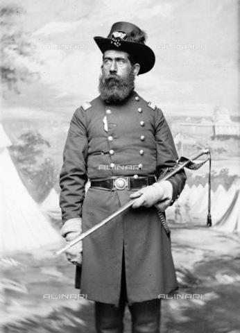 GRC-F-163553-0000 - Tenente colonnello R. Peard del Massachusetts fotografato durante la guerra civile americana - Data dello scatto: 1862 ca. - Granger, NYC /Archivi Alinari