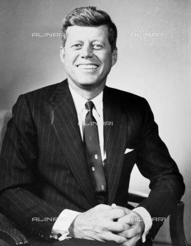 GRC-F-168678-0000 - Portrait John Fitzgerald Kennedy (1917-1963), 35th President of the United States - Data dello scatto: 1960 - Granger, NYC/Alinari Archives