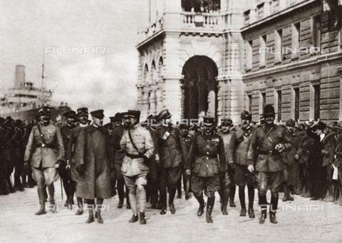 GRC-F-409199-0000 - Prima Guerra Mondiale: gli alleati sbarcano a Trieste - Data dello scatto: 1918 - Granger, NYC /Archivi Alinari