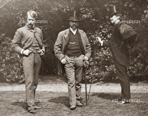 GRC-F-622008-0000 - Gli artisti Mortimer Menpes, William Merritt Chase e James McNeill Whistler - Data dello scatto: 1890 ca. - Granger, NYC /Archivi Alinari