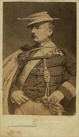GRQ-F-002868-0000 - Ritratto del militare, politico e patriota italiano Gerolamo Bixio, detto Nino (1821-1873) - Data dello scatto: 1860 ca. - Archivi Alinari, Firenze