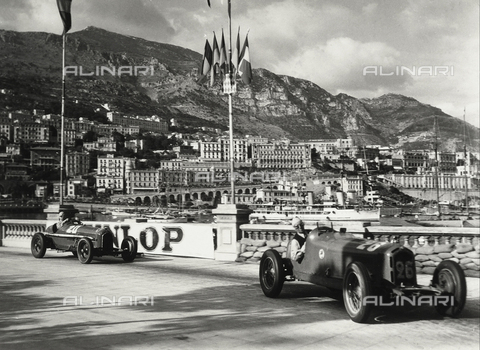 GRQ-F-006015-0000 - An automobile race at the racetrack in Montecarlo