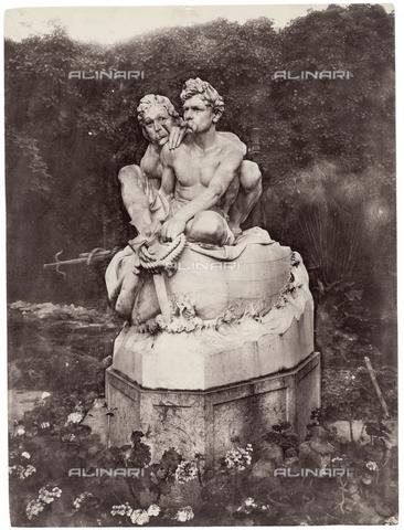 GWA-F-000204-0000 - Sculptural group of the Canaris brothers, Palermo - Data dello scatto: 1910 ca. - Archivi Alinari, Firenze