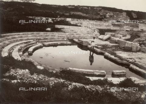 GWA-F-000214-0000 - Syracuse, view of the Roman gymnasium - Data dello scatto: 1895 ca. - Archivi Alinari, Firenze