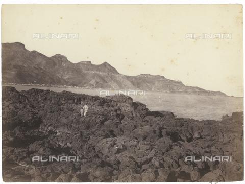 GWA-F-000376-0000 - View from Naxos, Giardini Naxos, Messina - Data dello scatto: 1900 ca. - Archivi Alinari, Firenze