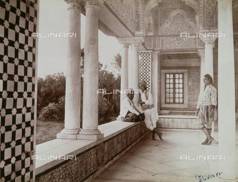 GWA-F-000424-0000 - Arab pavilion, Belvedere, Tunisi - Data dello scatto: 1890 ca. - Archivi Alinari, Firenze
