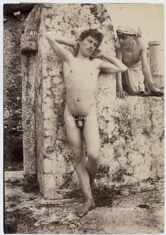 GWA-F-000911-0000 - Male nude - Data dello scatto: 1895 ca. - Archivi Alinari, Firenze