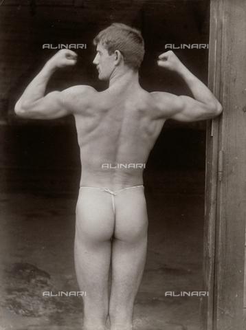 GWA-F-000937-0000 - Academic study, young nude - Data dello scatto: 1890 ca. - Archivi Alinari, Firenze