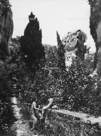 GWN-F-001564-0000 - Scene of arcadian-pastoral character - Data dello scatto: 1895 - 1905 - Archivi Alinari, Firenze