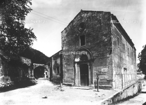 GWN-F-002770-0000 - The Church of the Capuchins in Taormina - Data dello scatto: 1895 - 1905 - Archivi Alinari, Firenze