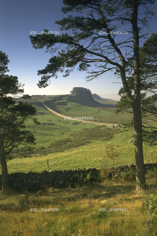 HIP-S-000123-1413 - Hadrian's Wall, Northumberland - Data dello scatto: 1994 - Historic England / Heritage Images /Alinari Archives, Florence