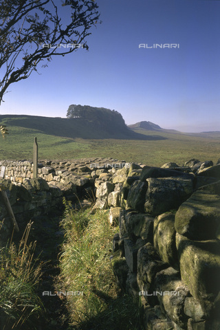 HIP-S-000123-1414 - Hadrian's Wall, Northumberland - Data dello scatto: 1994 - Historic England / Heritage Images /Alinari Archives, Florence