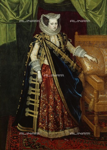 HIP-S-000267-2736 - Elizabeth Home, Countess of Suffolk, early 17th century. Painting from the Suffolk Collection, Kenwood House, London - Historic England Archive / Heritage Images /Alinari Archives, Florence