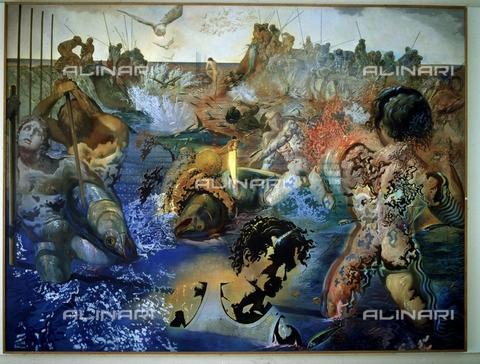 IFA-S-AAA005-7813 - La pesca del tonno, olio su tela, Salvador Dali (1904-1989), Fondazione Paul Ricard, Bandol - Index/Archivi Alinari, Firenze