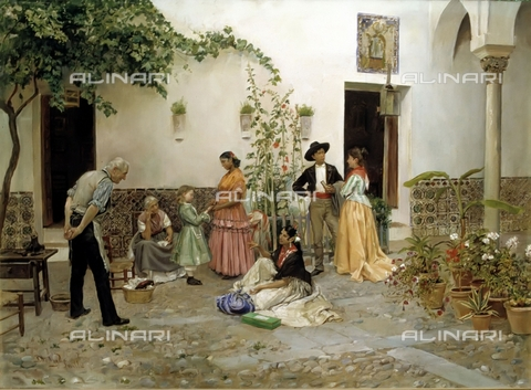 IFA-S-AAA005-7827 - The Fortune, oil on canvas, Vega Pedro de (1846-1890), Sammer Galleries - Index/Alinari Archives, Florence