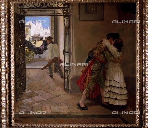 IFA-S-AAA005-7845 - Il saluto del torero, olio su tela, Alperiz Nicolà¡s (1865-1928), Collezione Privata - Index/Archivi Alinari, Firenze