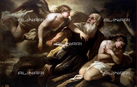 IFA-S-AAA005-7946 - Sacrificio di Isacco, olio su tela, Luca Giordano (1634-1705), Real Academia de Bellas Artes de San Fernando, Madrid - Index/Archivi Alinari, Firenze