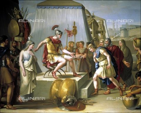 IFA-S-AAA005-7947 - The continence of Scipio, oil on canvas, Madrazo y Kuntz, Federico de (1815-1894), Real Academia de Bellas Artes de San Fernando, Madrid - Index/Alinari Archives, Florence