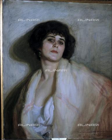 IFA-S-AAA005-7973 - Chula, oil on canvas, López Mezquita, José Maria (1883-1954), Real Academia de Bellas Artes de San Fernando, Madrid - Index/Alinari Archives, Florence