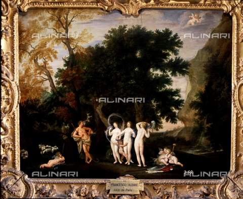 IFA-S-AAA005-7977 - Giudizio di Paride, olio su tela, Francesco Albani (1578-1660), Real Academia de Bellas Artes de San Fernando, Madrid - Index/Archivi Alinari, Firenze