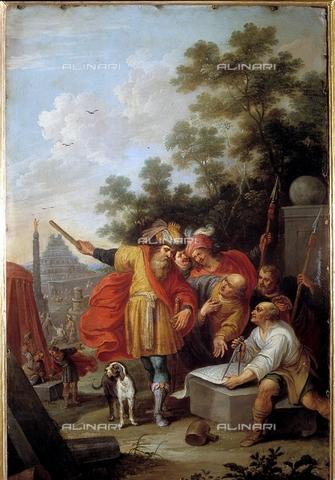 IFA-S-AAA005-7981 - La Torre di Babele, olio su rame, Frans Francken II Il Giovane (1581-1642), Real Academia de Bellas Artes de San Fernando, Madrid - Index/Archivi Alinari, Firenze