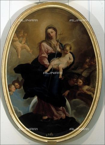 IFA-S-AAA005-7983 - Madonna col Bambino, olio su tela, Maella, Mariano Salvador (1739-1819), Real Academia de Bellas Artes de San Fernando, Madrid - Index/Archivi Alinari, Firenze