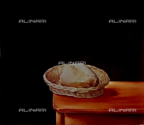 IFA-S-AAA005-8014 - Cesta di pane, olio su tela, Salvador Dalì (1904-1989), Teatro-Museo Dalà, Figueres - Index/Archivi Alinari, Firenze